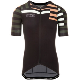 Bioracer Spitfire SS Jersey Men brown-mountain zebra